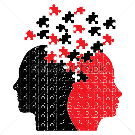 puzzle-heads-icon-vector
